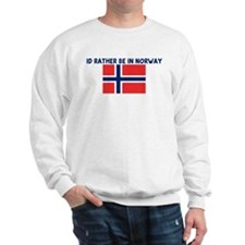 ID RATHER BE IN NORWAY Sweater