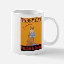 Tabby Cat Peaches and Cream Mug