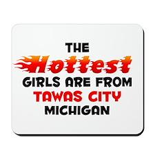 Hot Girls: Tawas City, MI Mousepad