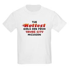 Hot Girls: Tawas City, MI T-Shirt
