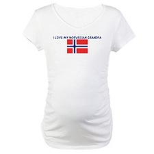 I LOVE MY NORWEGIAN GRANDPA Shirt