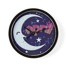 Celestial April Shirt Wall Clock