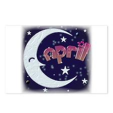 Celestial April Shirt Postcards (Package of 8)