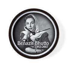 Benazir Bhutto Wall Clock