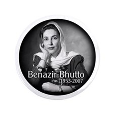 "Benazir Bhutto 3.5"" Button"