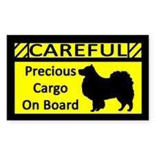 Precious Cargo Finnish Lapphund Sticker (Rect)