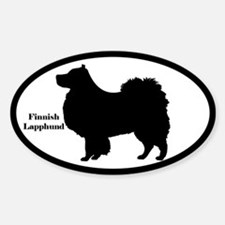 Finnish Lapphund Silhouette Decal