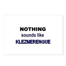 Klezmerengue Postcards (Package of 8)