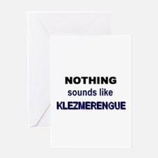 Klezmerengue Greeting Card