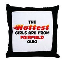 Hot Girls: Fairfield, OH Throw Pillow