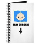 I'M NOT LAZY I'M PREGNANT/BABY ON BOARD Journal