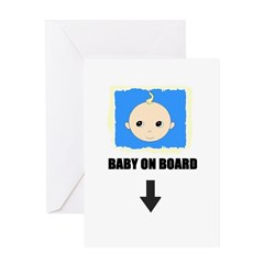 I'M NOT LAZY I'M PREGNANT/BABY ON BOARD Greeting C