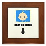 I'M NOT LAZY I'M PREGNANT/BABY ON BOARD Framed Til