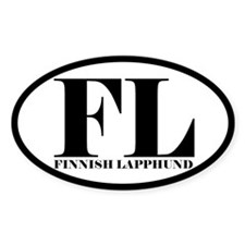 FL Abbreviation Finnish Lapphund Decal