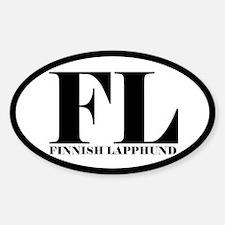 FL Abbreviation Finnish Lapphund Decal