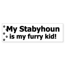 Stabyhoun Furry Kid Bumper Bumper Sticker