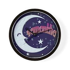 Celestial Samantha Shirt Wall Clock