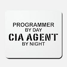 Programmer CIA Agent Mousepad