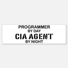 Programmer CIA Agent Bumper Bumper Bumper Sticker