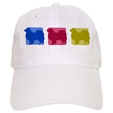 Color Row Finnish Lapphund Baseball Cap