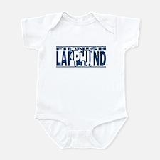 Hidden Finnish Lapphund Baby Bodysuit