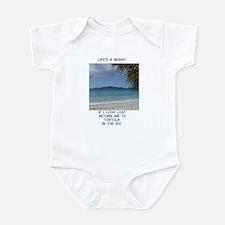 Life's a Beach Infant Bodysuit