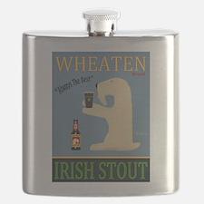 Wheaten Irish Stout Flask
