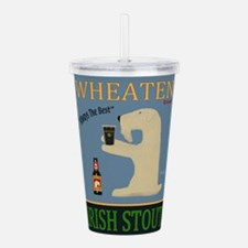 Wheaten Irish Stout Acrylic Double-wall Tumbler