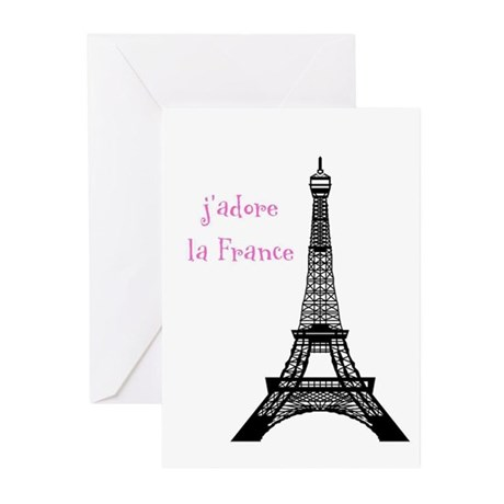 j'adore Greeting Cards (Pk of 10)