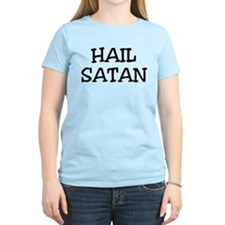 Hail Satan - Women's Pink T-Shirt