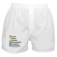 Cute Anagrams Boxer Shorts