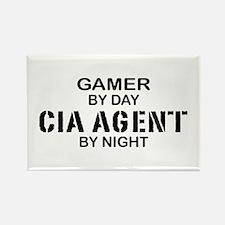 Gamer CIA Agent Rectangle Magnet
