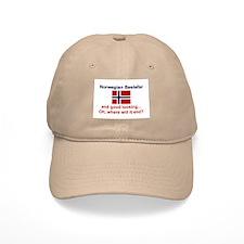 Gd Lkg Norwegian Bestefar Baseball Cap