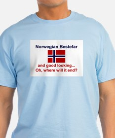 Gd Lkg Norwegian Bestefar T-Shirt