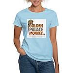 GoldenPalace.com Monkey Women's Pink T-Shirt