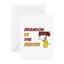 Brandon to the Rescue! Greeting Card