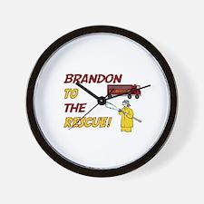Brandon to the Rescue!  Wall Clock
