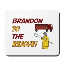 Brandon to the Rescue! Mousepad