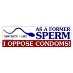 Former Sperm Bumper Sticker