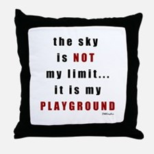 Not My Limit Throw Pillow