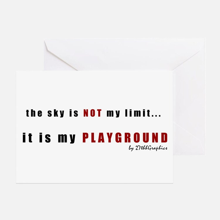 Not My Limit Greeting Card