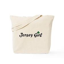 Irish Jersey Girl Tote Bag