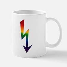 Rainbow Gay Lightning Bolt Mug