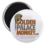 "GoldenPalace.com Monkey 2.25"" Magnet (10 pack)"