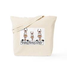 Mama Llamas Rules Tote Bag