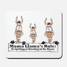 Mama Llamas Rules Mousepad