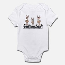 Mama Llamas Rules Infant Bodysuit