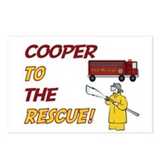 Cooper to the Rescue!  Postcards (Package of 8)