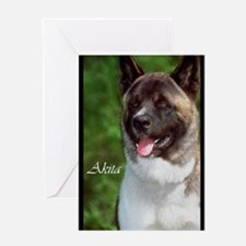 Akita Lovers Art Greeting Card