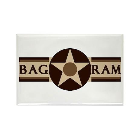 Bagram Air Base (Subdued) Rectangle Magnet